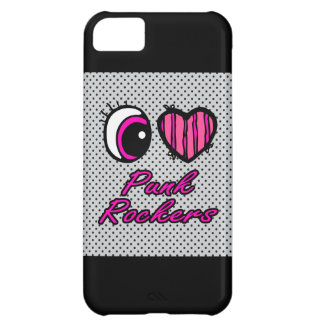 Emo Eye Heart I Love Punk Rockers Cover For iPhone 5C