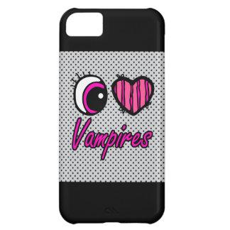 Emo Eye Heart I Love Vampires iPhone 5C Case