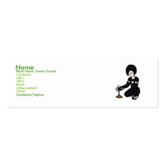 Emo Gardener Business Cards