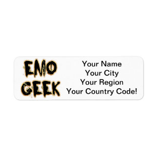 Emo Geek Black Label