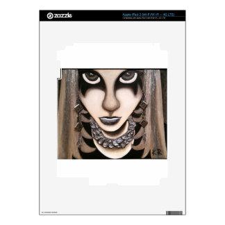 Emo Girl Decal For iPad 3