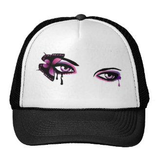 Emo Girl Eyes Trucker Hat