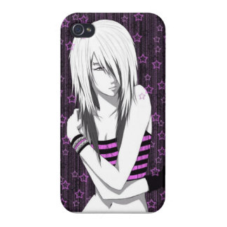 Emo Girl iPhone 4 Case