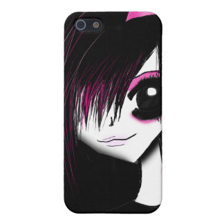 Emo girl iPhone SE/5/5s case