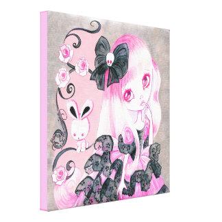 Emo Girl: Jennifer Canvas Prints
