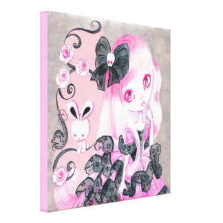 Emo Girl: Jennifer Canvas Print