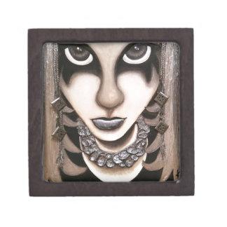 Emo Girl Keepsake Box