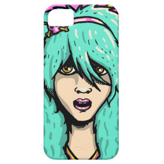Emo Girl Phone Cover. iPhone SE/5/5s Case