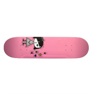 emo girl skateboard deck