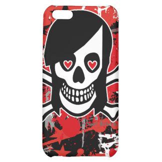 Emo Girl Skull iPhone 4 Case