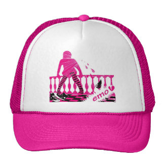 Emo Girl Style Trucker Hat