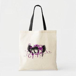Emo Girls Tote Bag