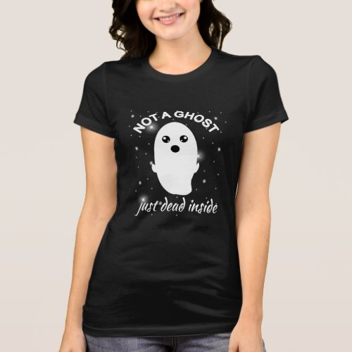 Emo Goth Not A Ghost Just Dead Inside Grunge T-Shirt