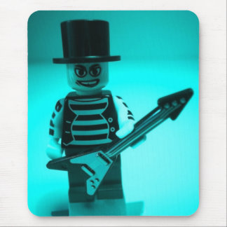 Emo Guitarist Custom Minifig by CustomizeMyMinifig Mouse Pad