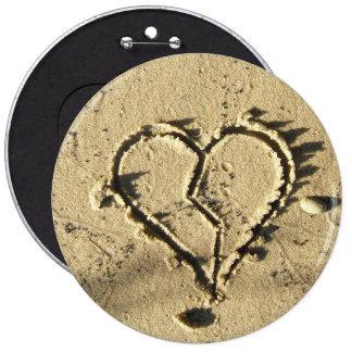 Emo Heart Bozo Button