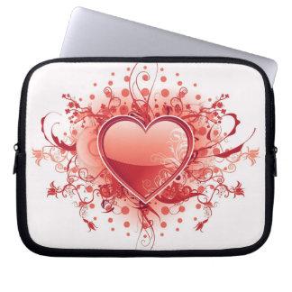 Emo Heart Design Electronics Bag Computer Sleeves