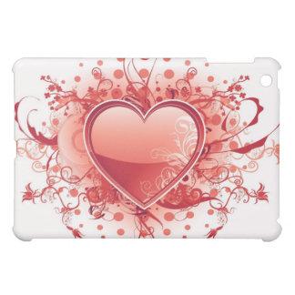 Emo Heart Design iPad Case