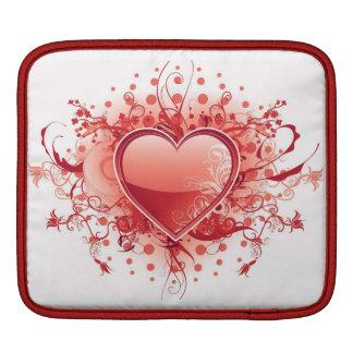 Emo Heart Design  iPad Sleeve