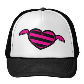 Emo Heart Trucker Hat