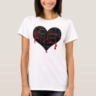 EMO Heart shirt