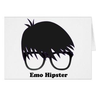 Emo Hipster Card