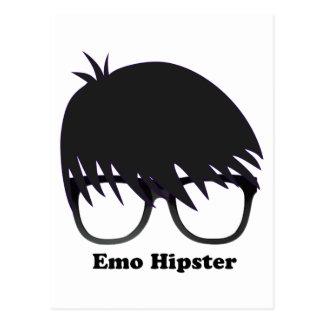 Emo Hipster Postcard