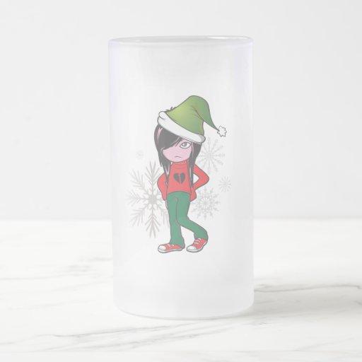 Emo Kid Holiday Gear Mug