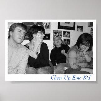 Emo kid poster