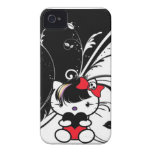 Emo Kitty iPhone 4 Case-Mate Case