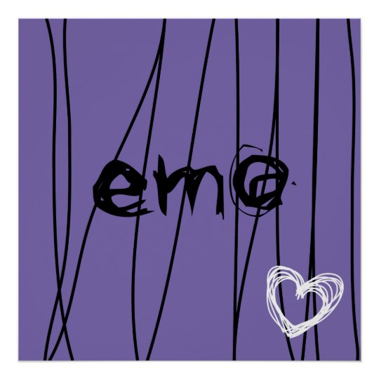 emo love 1 poster