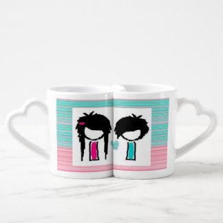 Emo Love Mug Set
