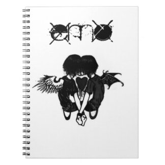 Emo Love Notebook
