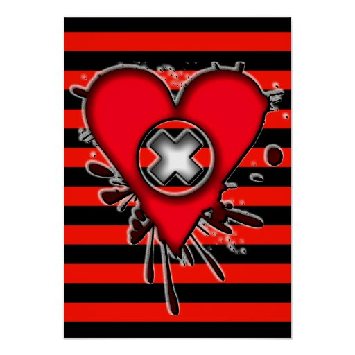 Emo Love Poster