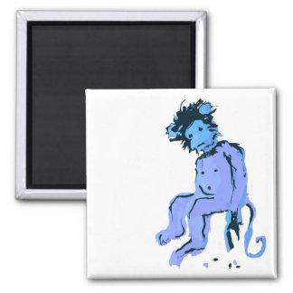 emo monkey ink magnet