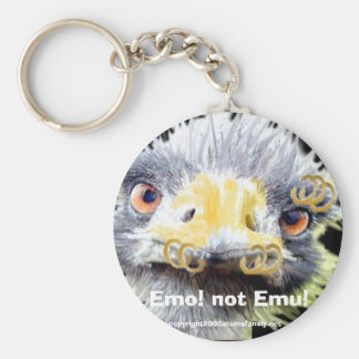 Emo! not Emu!, Basic Round Button Keychain