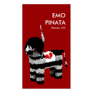 emo pinata Double-Sided standard business cards (Pack of 100)