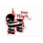 emo pinata post cards
