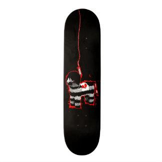 emo pinata skateboard deck