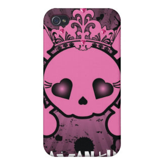 EMO Pink Skull Crossbones iPhone 4/4s Speck Case