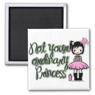 Emo Princess 2 Inch Square Magnet
