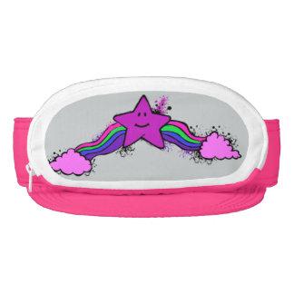 Emo Rainbow Star Cap-Sac Visor