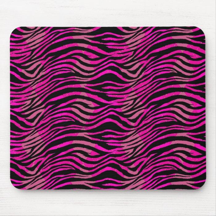 Emo Scene Zebra Mousepad