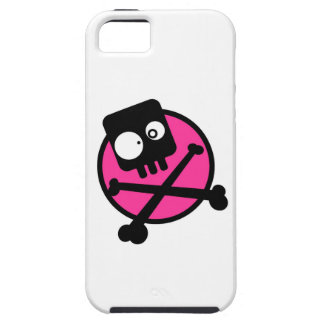 Emo Skull And Crossbones iPhone 5/5S Cases