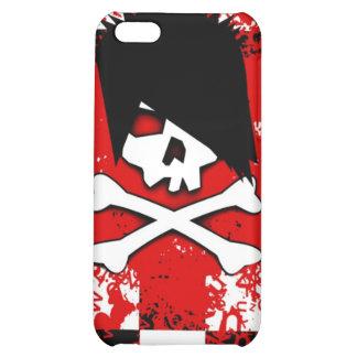 Emo Skull iPhone 4 Case