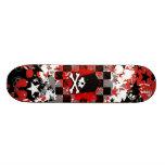 Emo Skull Skateboard Deck