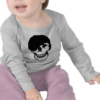emo skull tee shirt