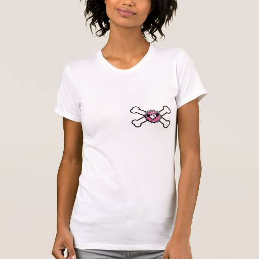 emo skull winged heart bottlecap crossbones tee shirts