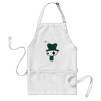 Emo St Patty Adult Apron