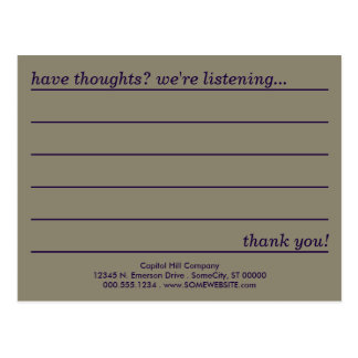 emo style comment card