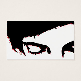 emo style coupon discount business card